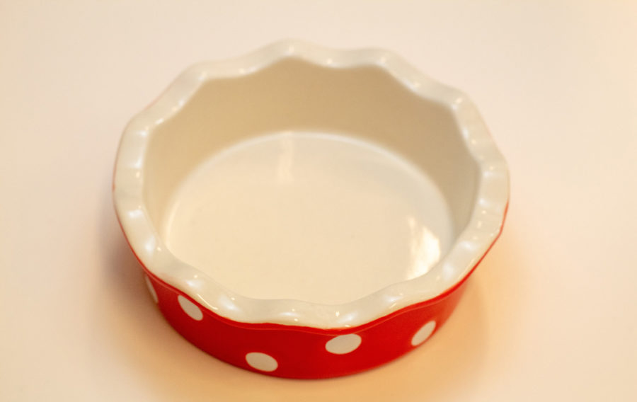 Greengate Spot red pajform mini
